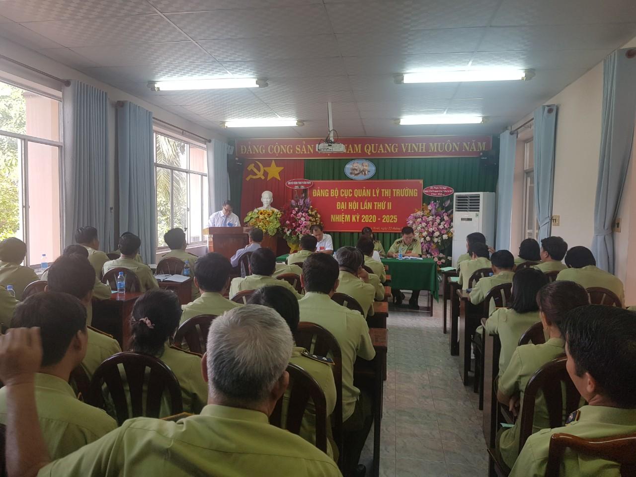 Cục Quản lý thị trường tỉnh Bình Phước tổ chức Đại hội Đảng bộ, lần thứ II - Nhiệm kỳ 2020 - 2025