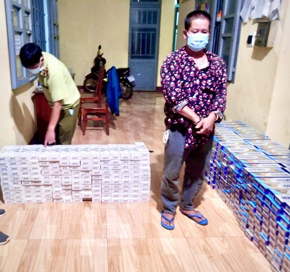 Cục Bình Phước: Phối hợp phát hiện đối tượng vận chuyển 7.000 bao thuốc lá điếu nhập lậu